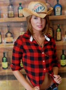Country Girl Diddy Strips Out Of Her Cute Lil Outfit Showing Off Her Perky Tits - Picture 3