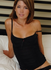 Watch As Diddy Strips Out Of Her Cute Black Outfit On Brookes Bed - Picture 2
